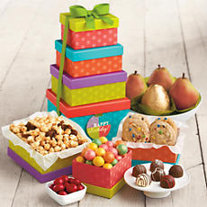 Light Size Birthday Tower Fruit Clubs