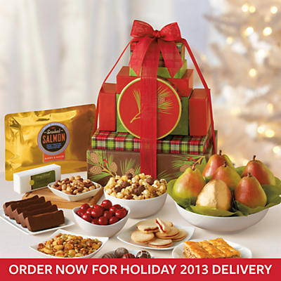 Holiday Tower of Treats® Gift Deluxe