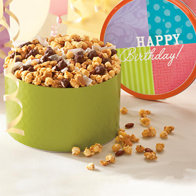Moose Munch® Popcorn Birthday Gift Tin