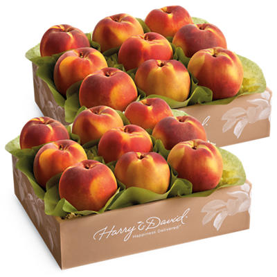 Two Boxes of Oregold Peaches
