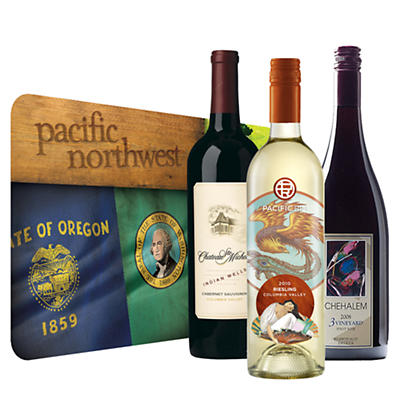 Pacific NW Vineyard Trio