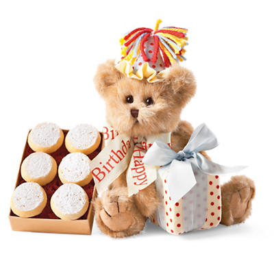 Birthday Bear Cookie Gift
