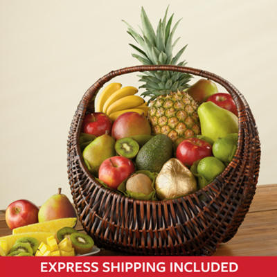 Fresh Fruit Gift Basket Deluxe