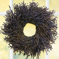<span style=color:#bb0011>NEW</span> Lavender Wreath
