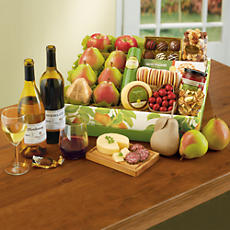 Founders' Favorites Gift Box with Wine