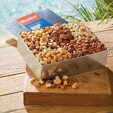 <span style=color:#bb0011>NEW</span> Gourmet Nut Gift Tin