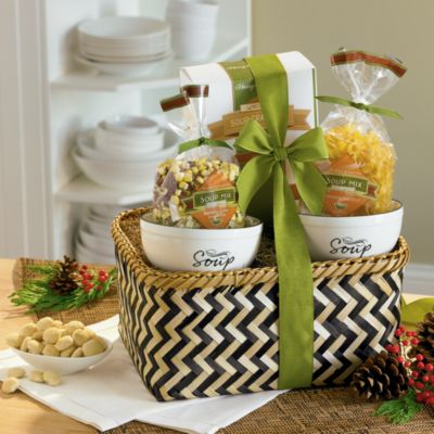 <span style=color:#bb0011>NEW</span> Soup Gift Basket