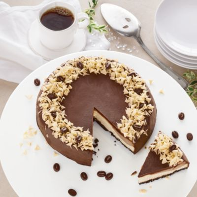 Mocha Layer Cheesecake