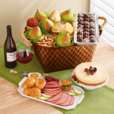 Table Rock Ham Buffet Gift with Wine