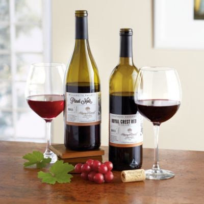 <span style=color:#bb0011>NEW</span> Harry & David Red Wine Duo