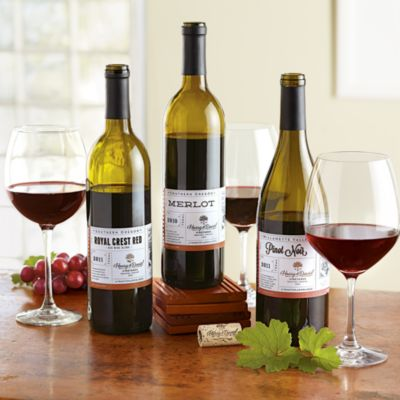 <span style=color:#bb0011>NEW</span> Harry & David Red Wine Trio