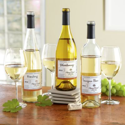 <span style=color:#bb0011>NEW</span> Harry & David White Wine Trio