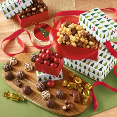 <span style=color:#bb0011>NEW</span> Holiday Tower of Chocolates® Gift Classic