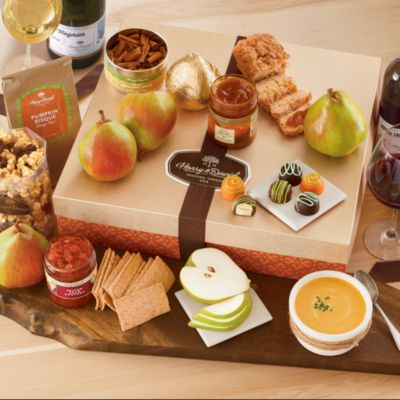 <span style=color:#bb0011>NEW</span> Harvest Founders' Favorites Gift Box with Wine