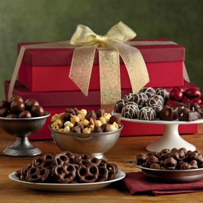 Holiday Sweets Tower
