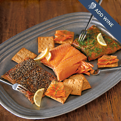 Wild Alaskan Smoked Salmon Trio | Specialty Meats | Harry & David