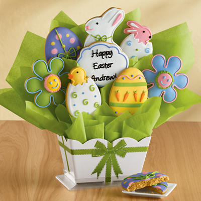 Personalized Easter Cookie Bouquet