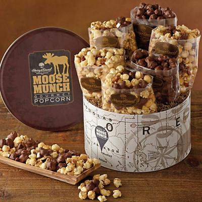 Deluxe Moose Munch Gourmet Popcorn Tin