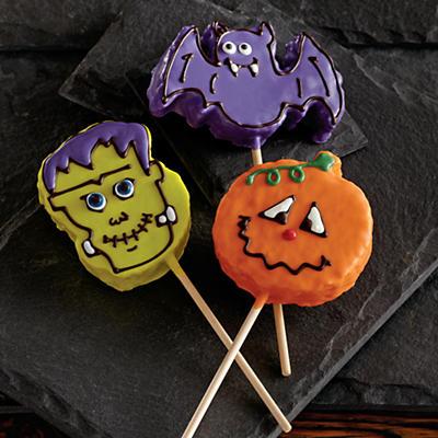 Halloween Krispy Pops