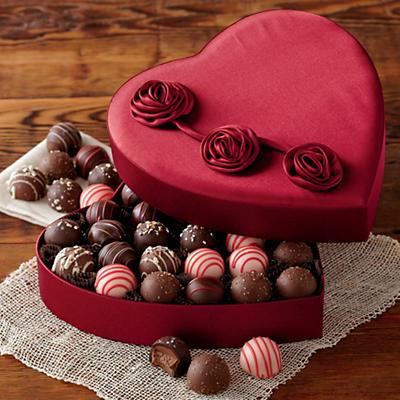 Valentine's Day Chocolate Truffles