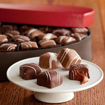 Valentine's Day Caramels