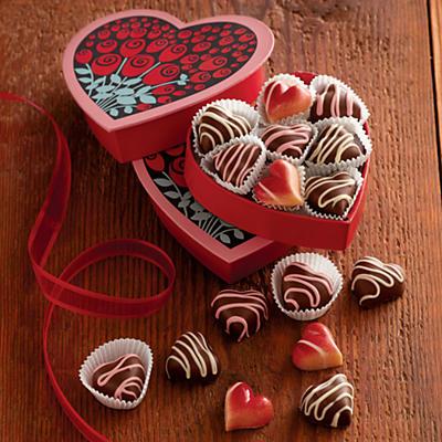 Heavenly Hearts Chocolates Duo