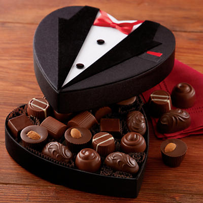 Tuxedo Box of Chocolates
