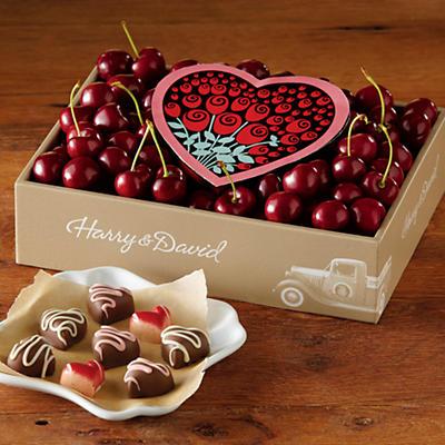 Valentine's Day Chocolates and Cherry-Oh! Cherries