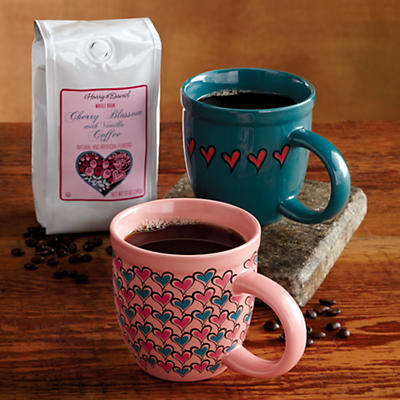 Valentine's Day Mugs and Coffee Gift