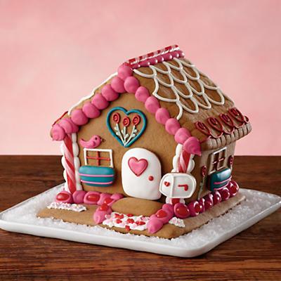 Valentine's Day Cookie House