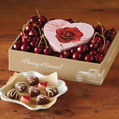 4-Month Valentine's Day Gift Box Fruit-of-The-Month Club Collection