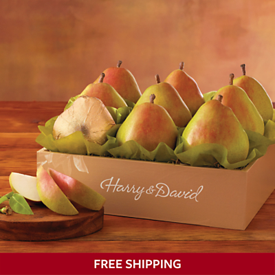 Harry + David 25% Off + FREE shipping select items - Royal Riviera Pears $22.49 SHIPPED