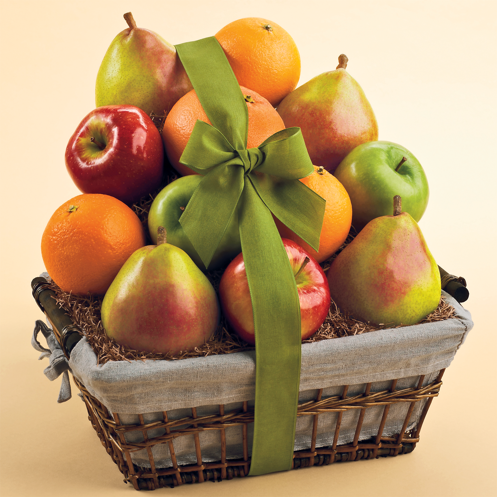 Gourmet Gift Basket is another gift basket site that caters to those that want options when choosing a gift. There are fruit baskets available on their website, but the selection is somewhat limited (only 10) and all of them offer a mixture of fruit and other gourmet treats, .
