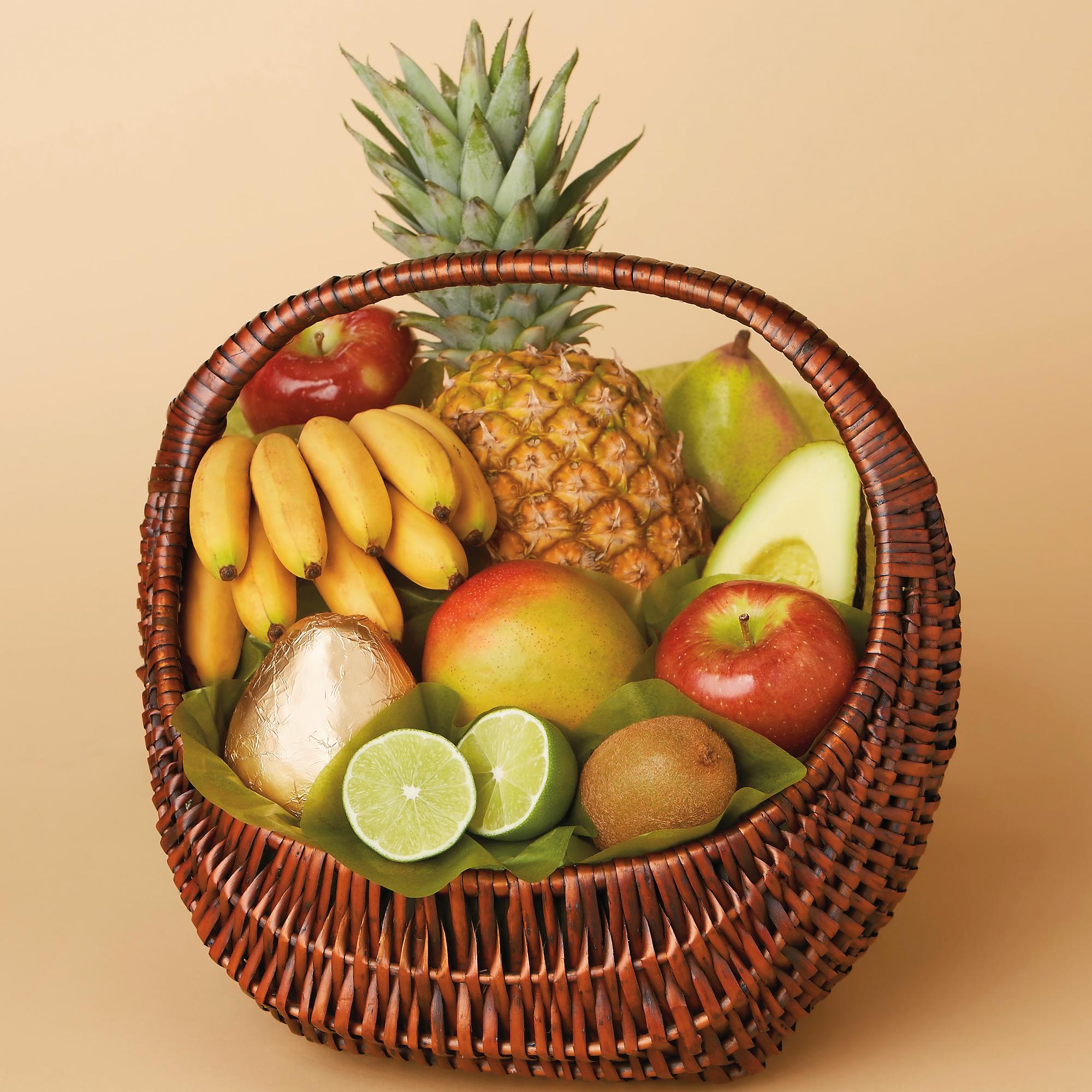 Шуточные подарки с фруктами