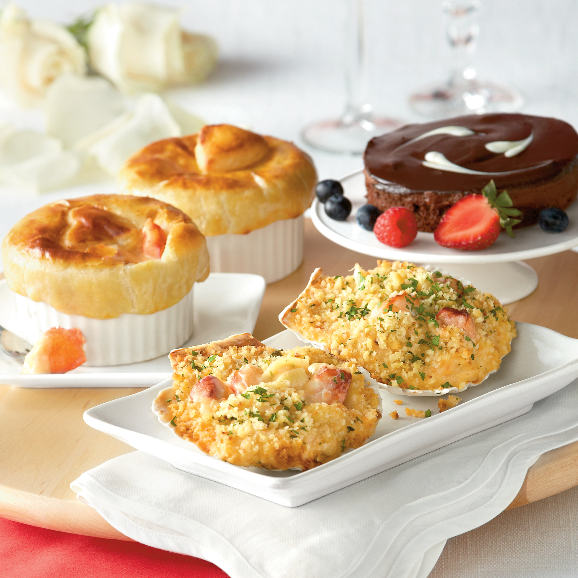 Lobster Pot Pie Dinner for Two | Seafood Dinners Delivered