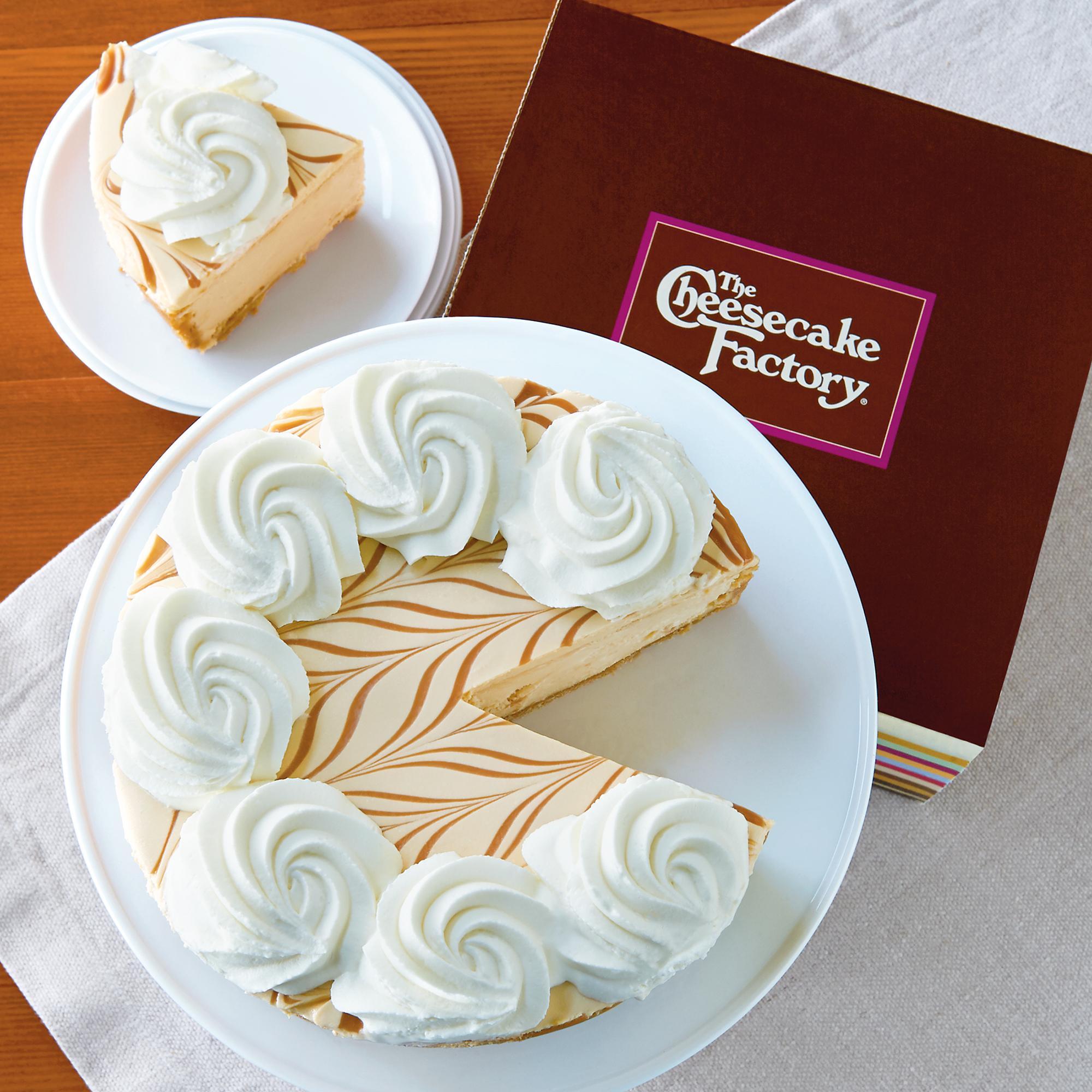 The Cheesecake Factory Dulce de Leche Caramel Cheesecake