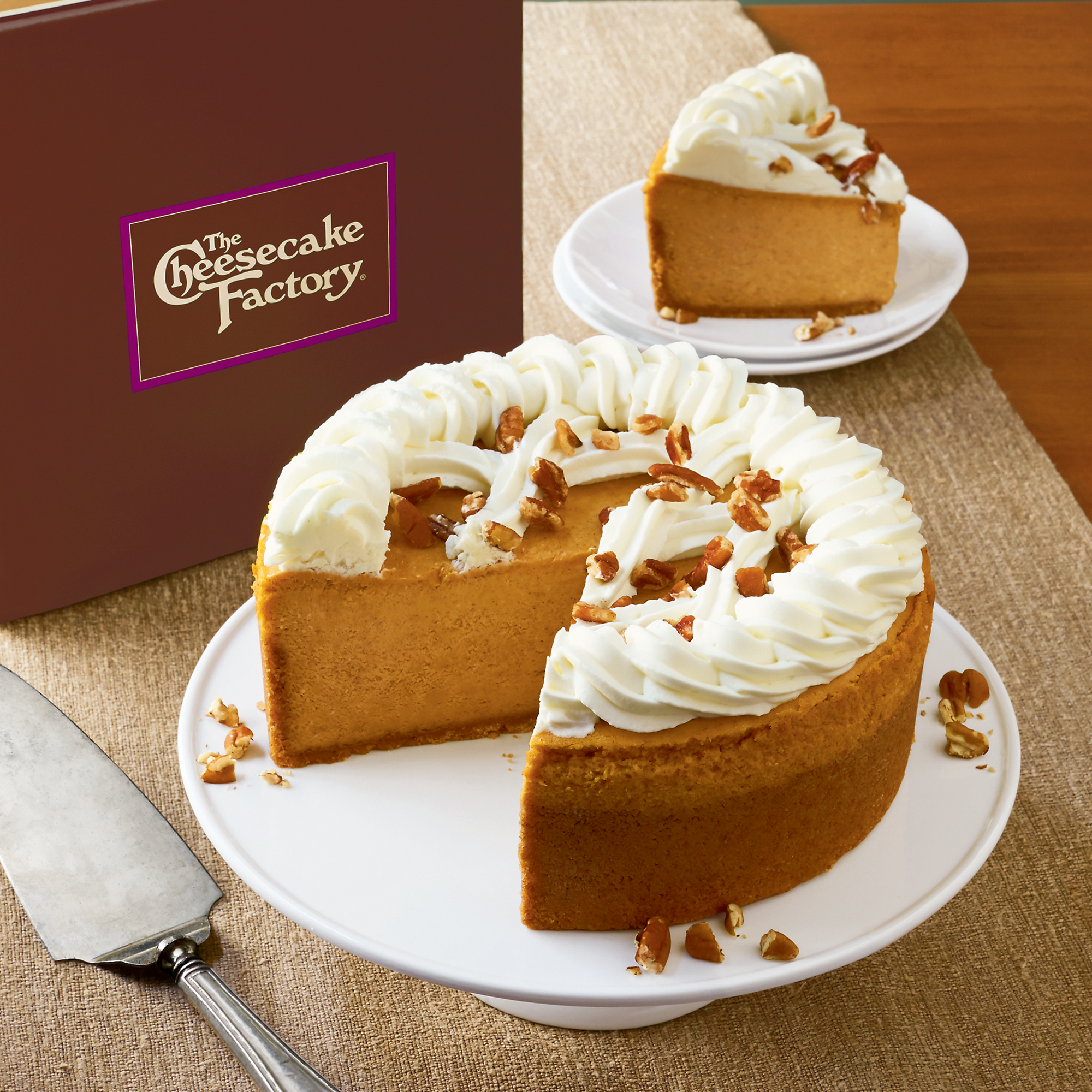 The Cheesecake Factory® Pumpkin Cheesecake | Harry & David