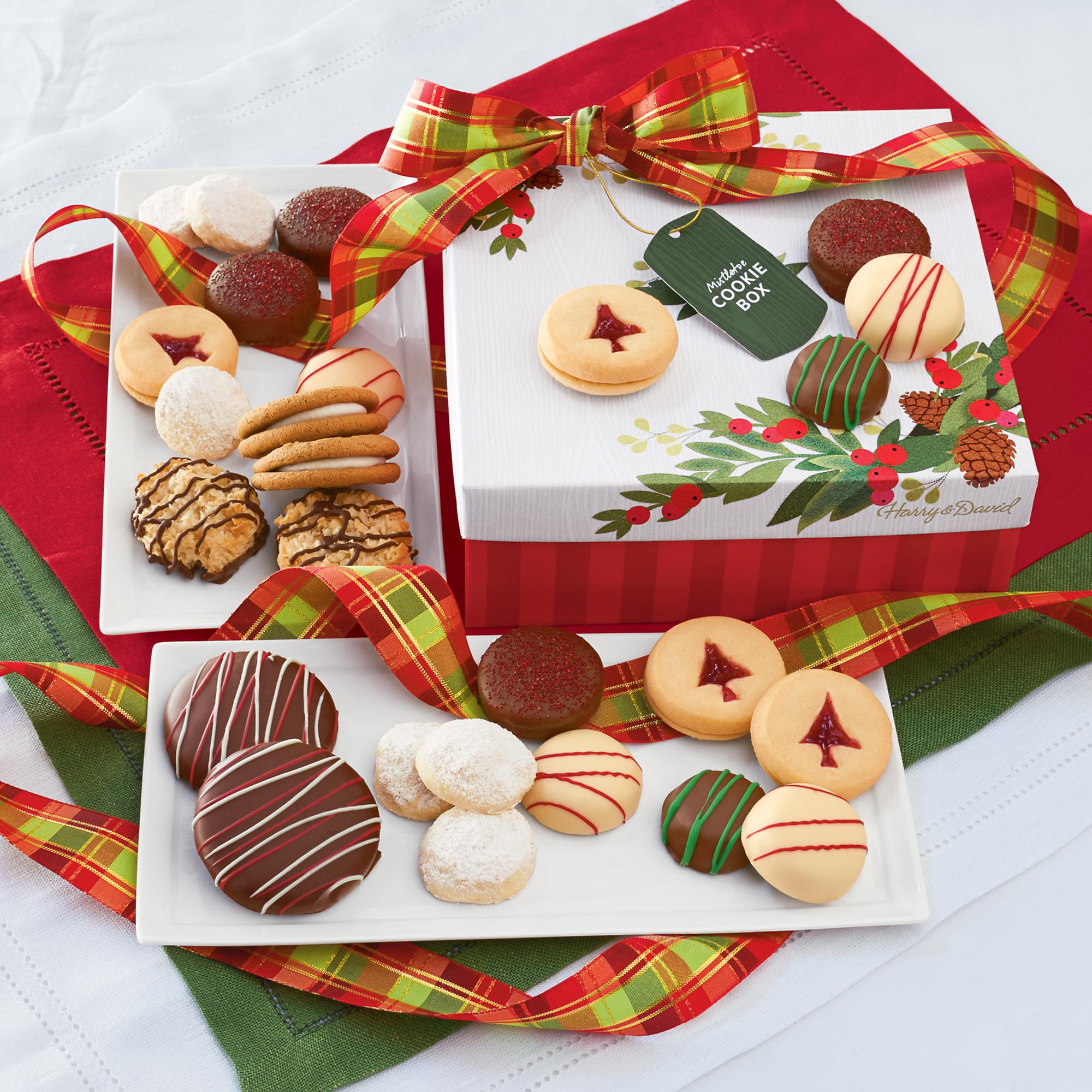 Mistletoe Christmas Cookie Gift Cookies Brownies