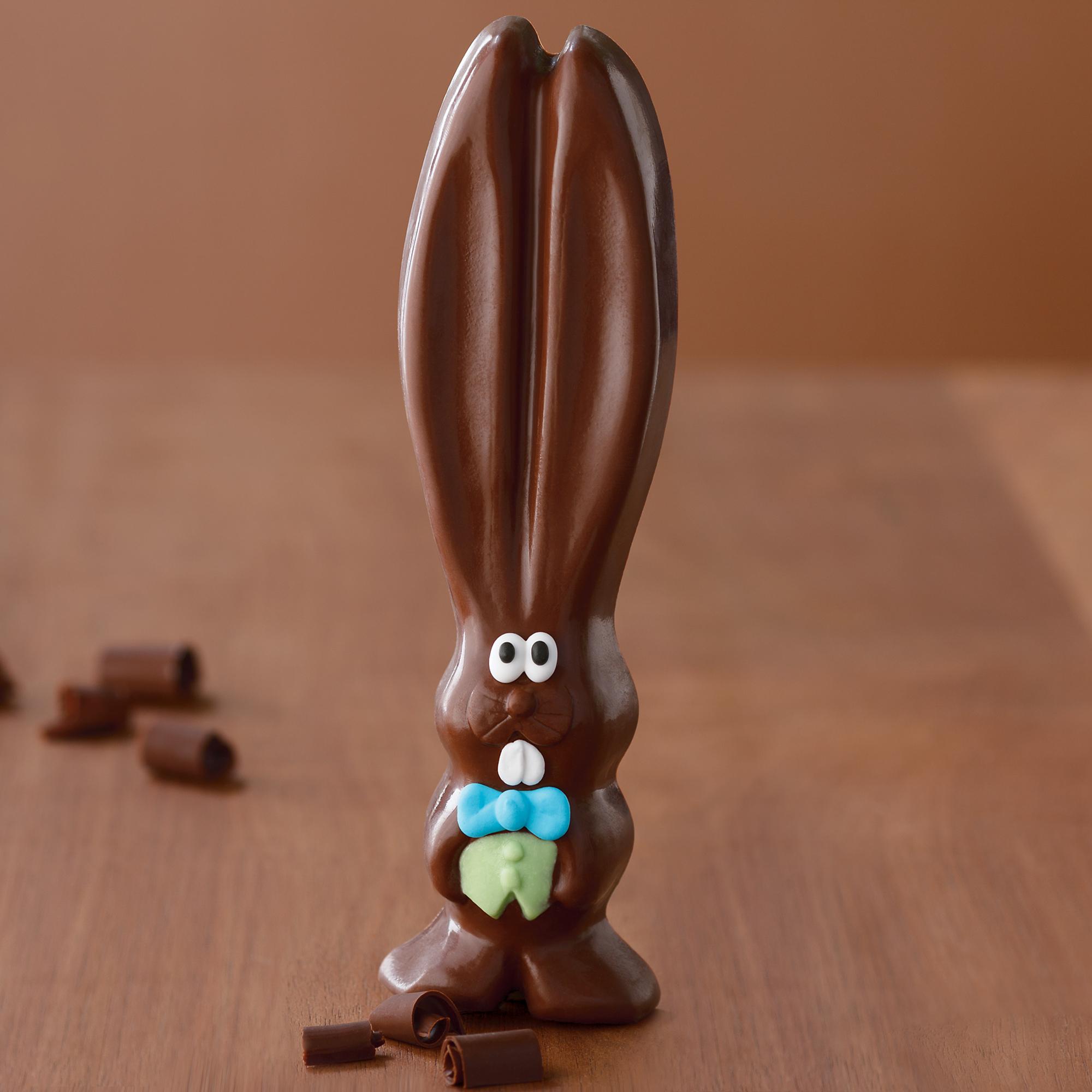 Pics Photos - Chocolate Easter Bunny Butt Ears Eat Food Funny Cartoon ...