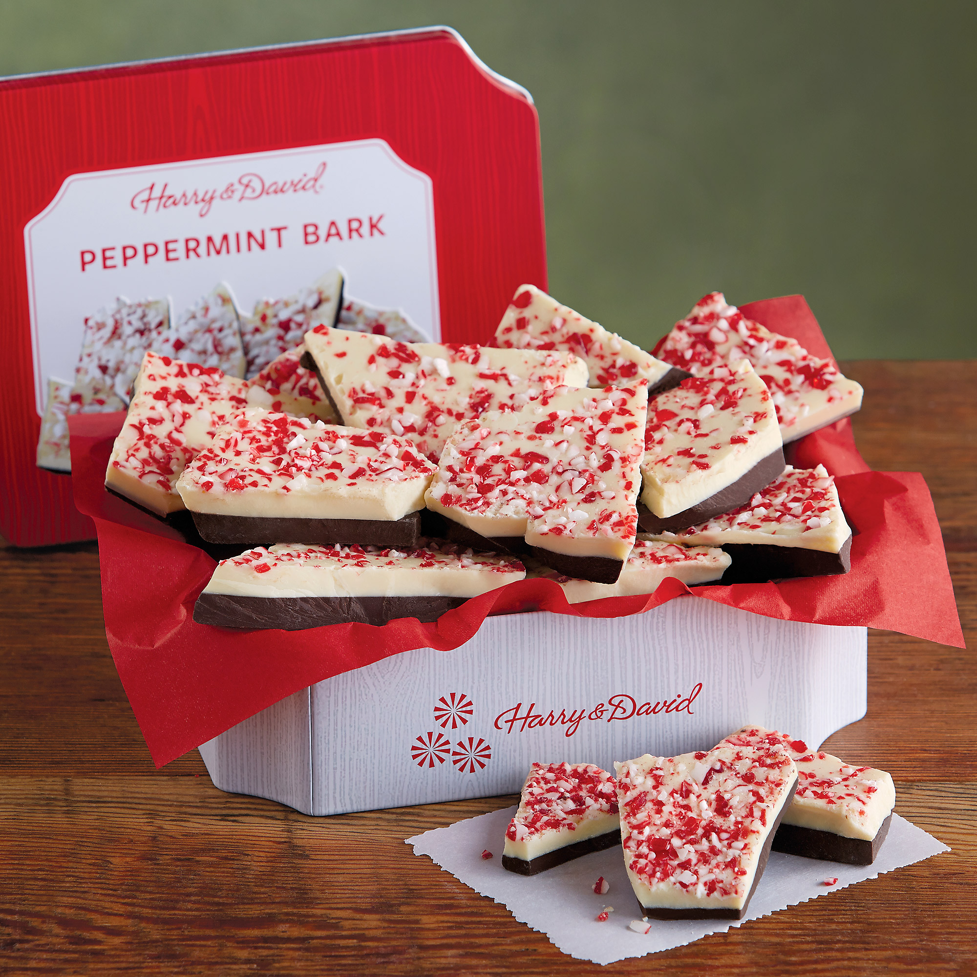Peppermint Bark Tin | Chocolate Gifts | Harry & David
