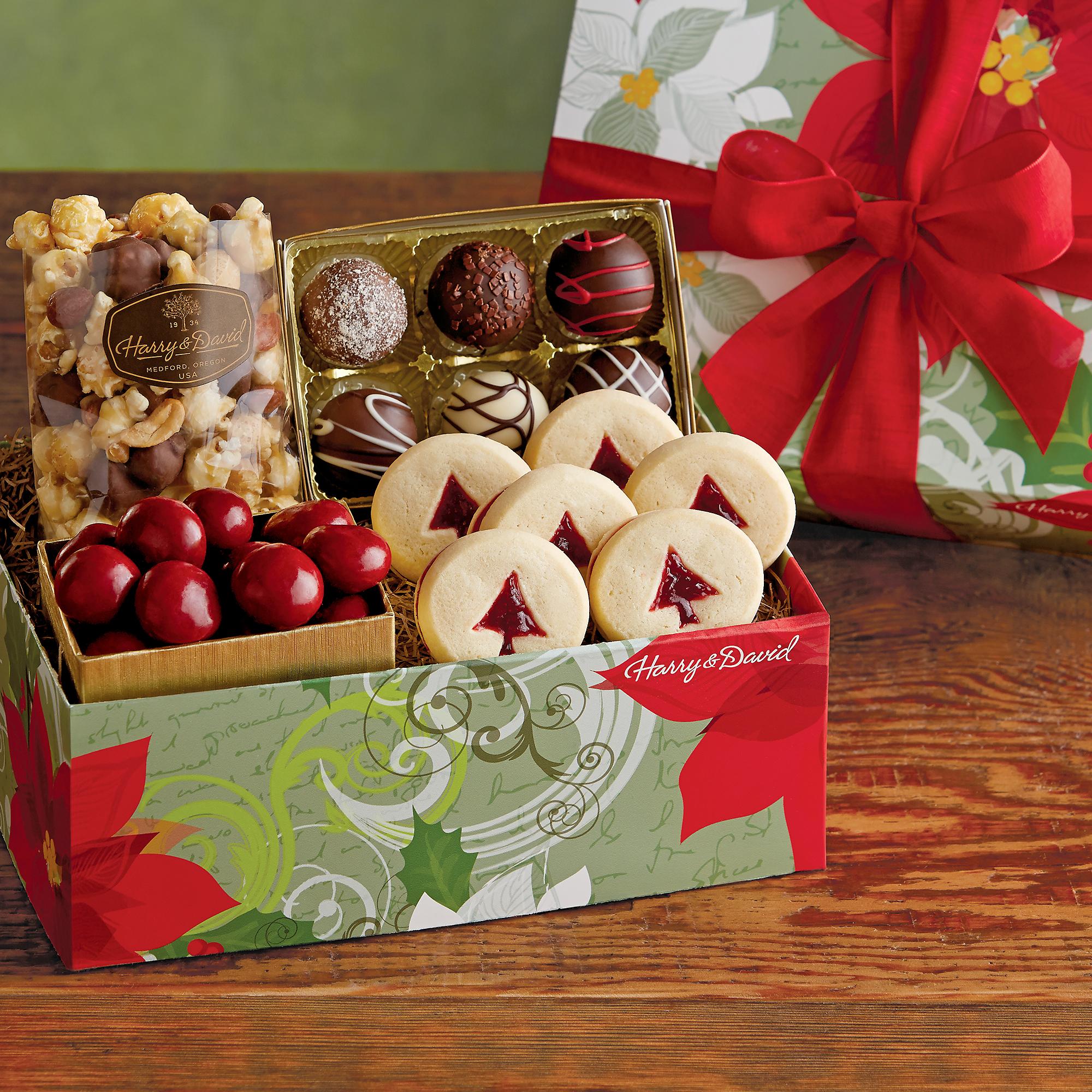 Holiday sweet treats gift boxes harry amp david