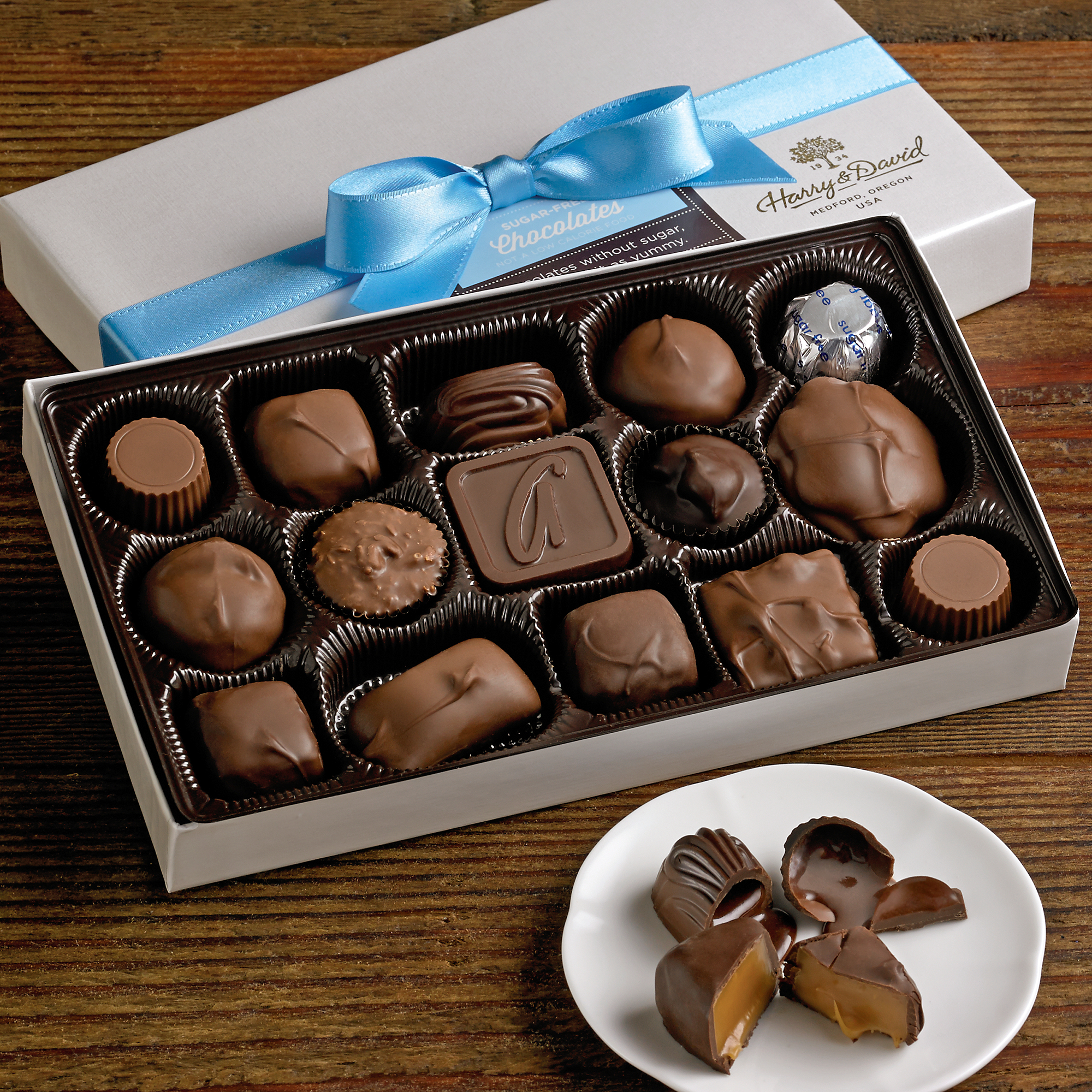 Diabetic chocolate gift boxes sugar free elegant jewelry gift box diabetic chocolate gift boxes sugar free chocolates special diet gifts harry david negle Image collections