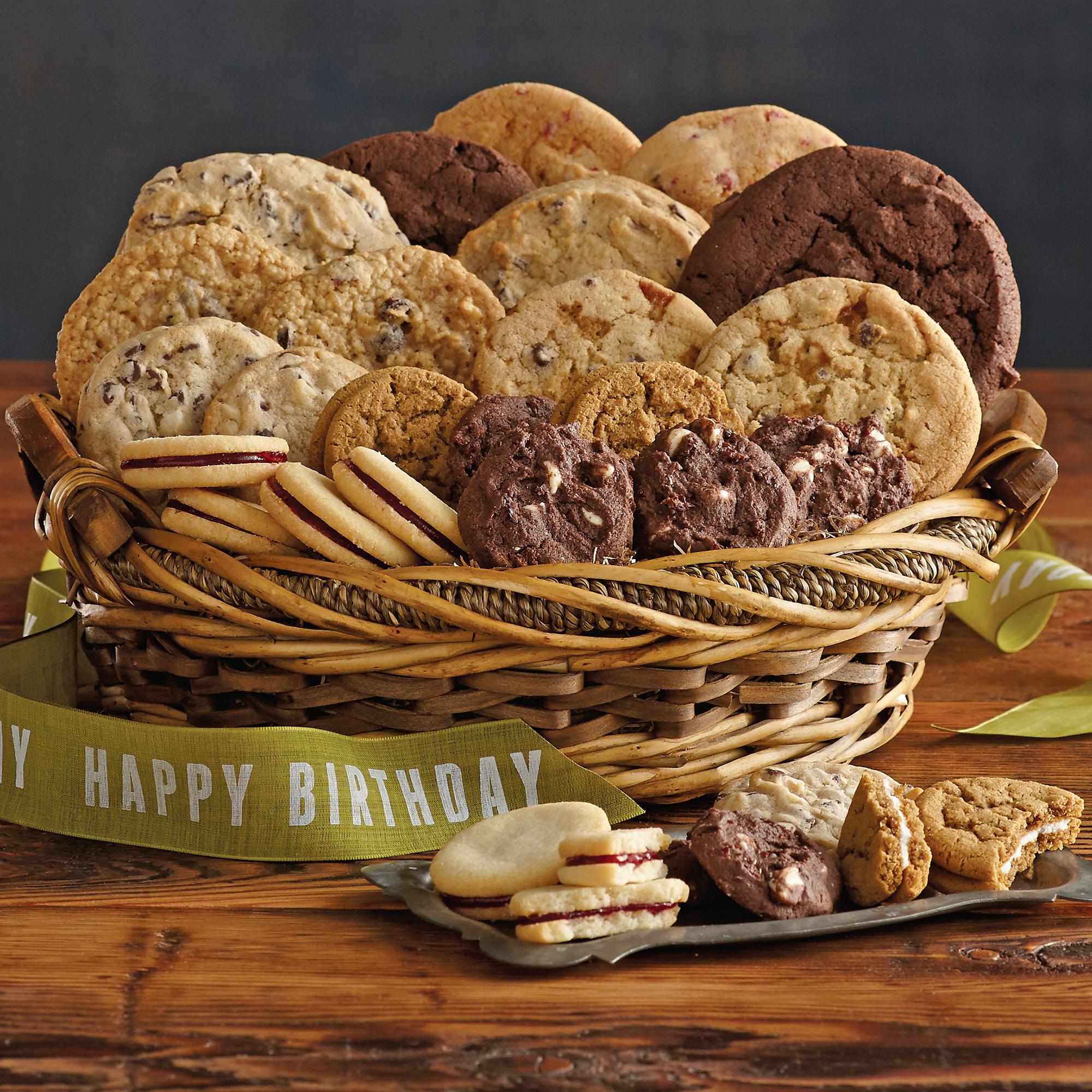 Harry And David Birthday Gift Baskets : Birthday cookie gift basket cookies and brownies harry