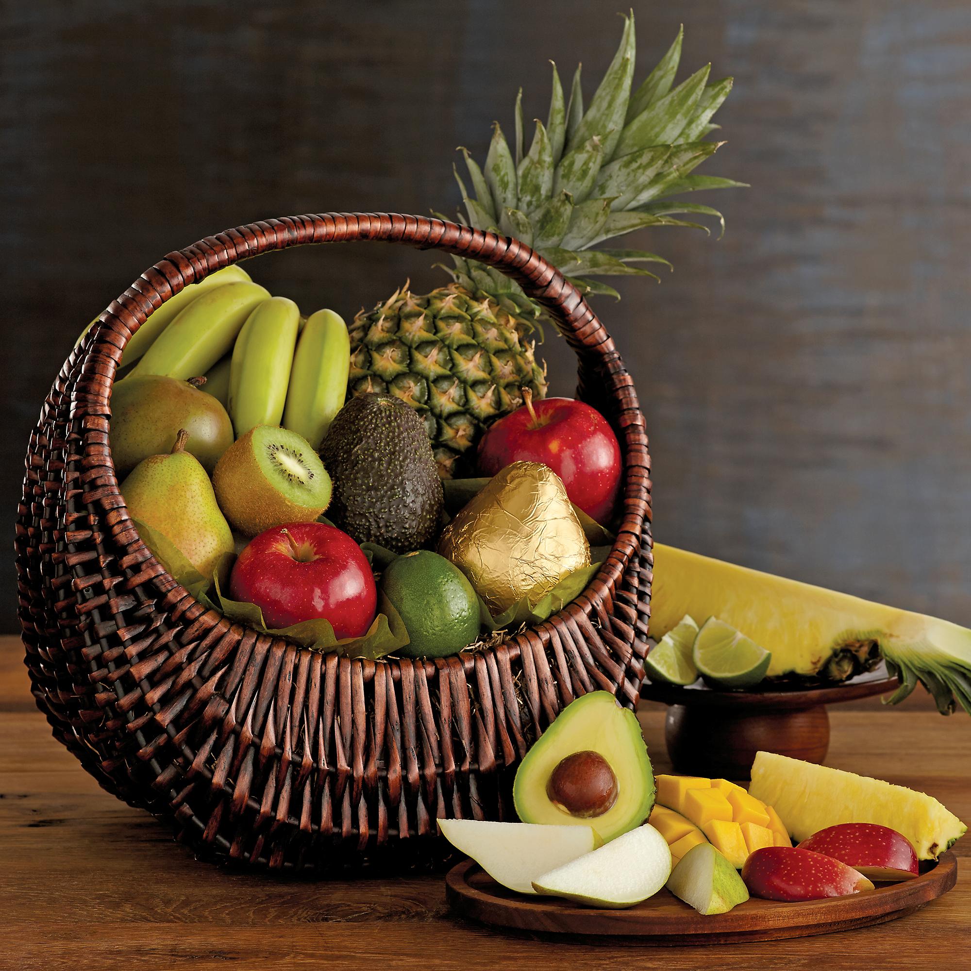 Fresh Fruit Basket Gourmet Gift Baskets Harry David