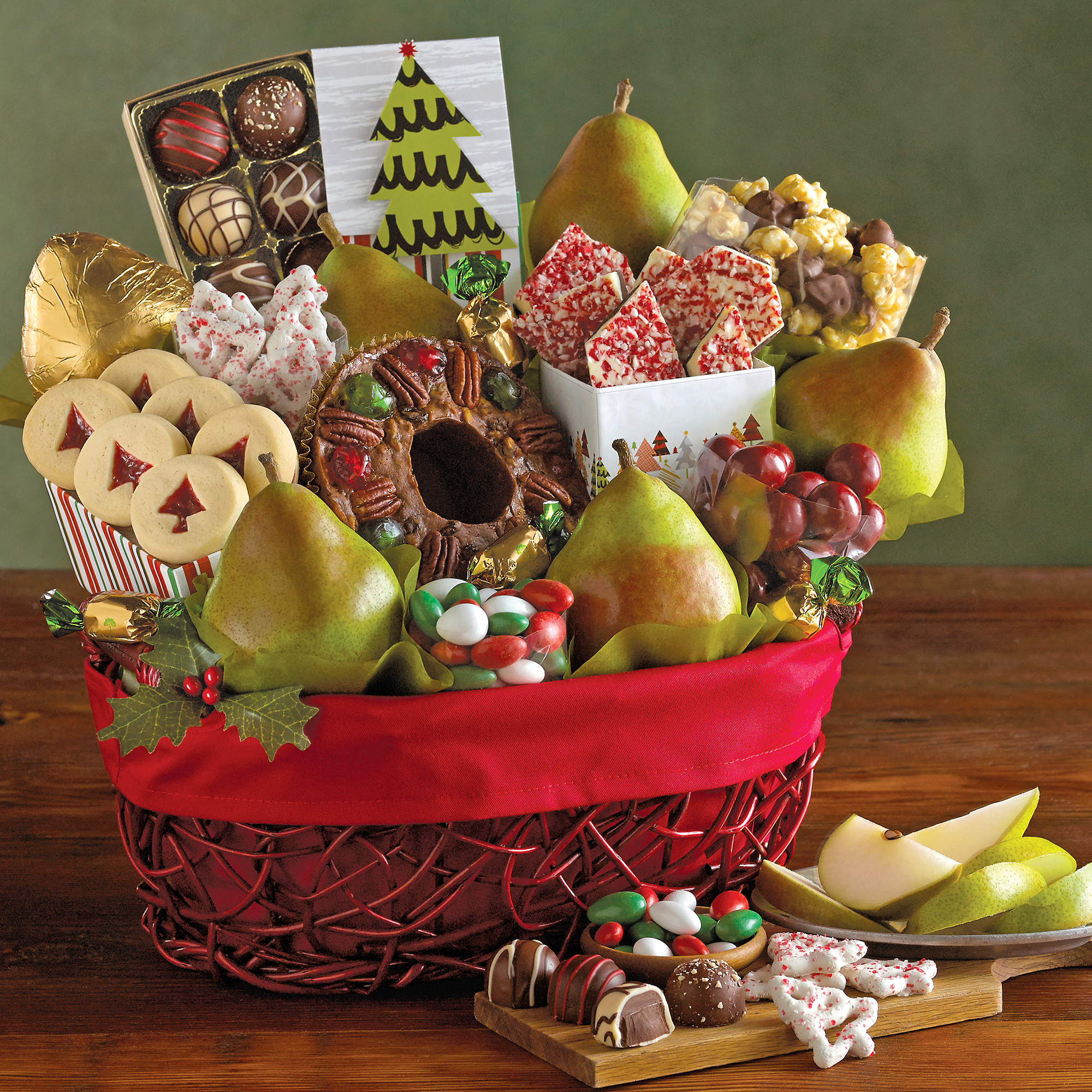 Christmas gift basket gift basket delivery harry david for Ideas for homemade christmas gift baskets