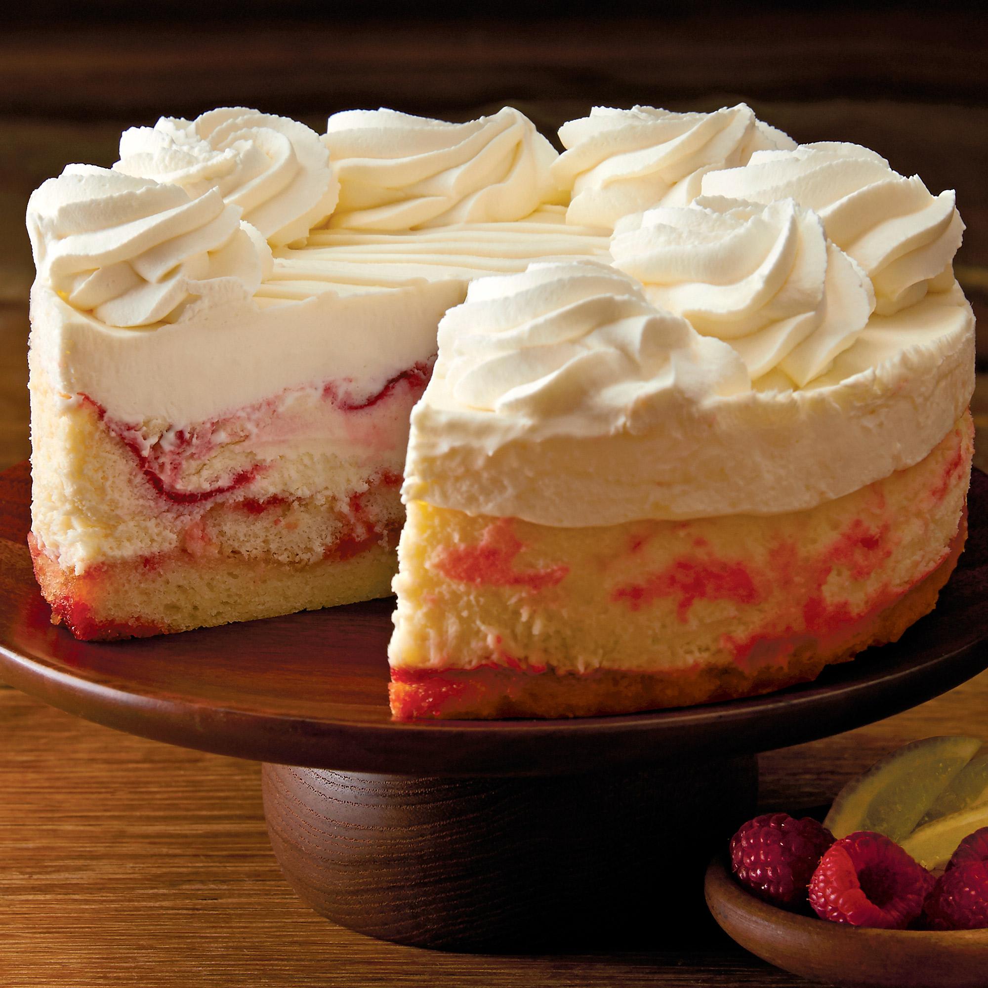 The Cheesecake Factory Lemon Raspberry Cheesecake