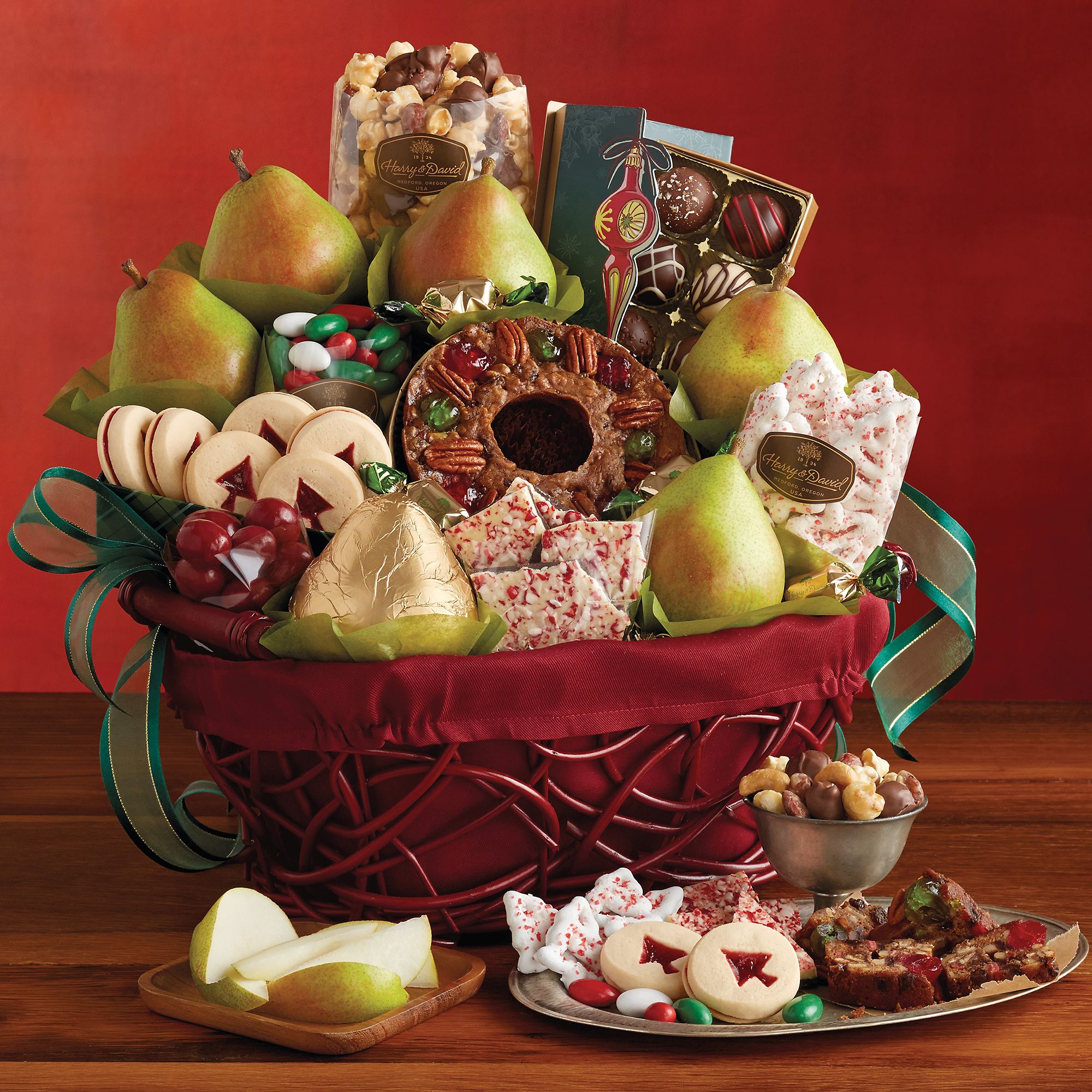 Gift Baskets Harry And David: Orchard gift basket apple baskets ...