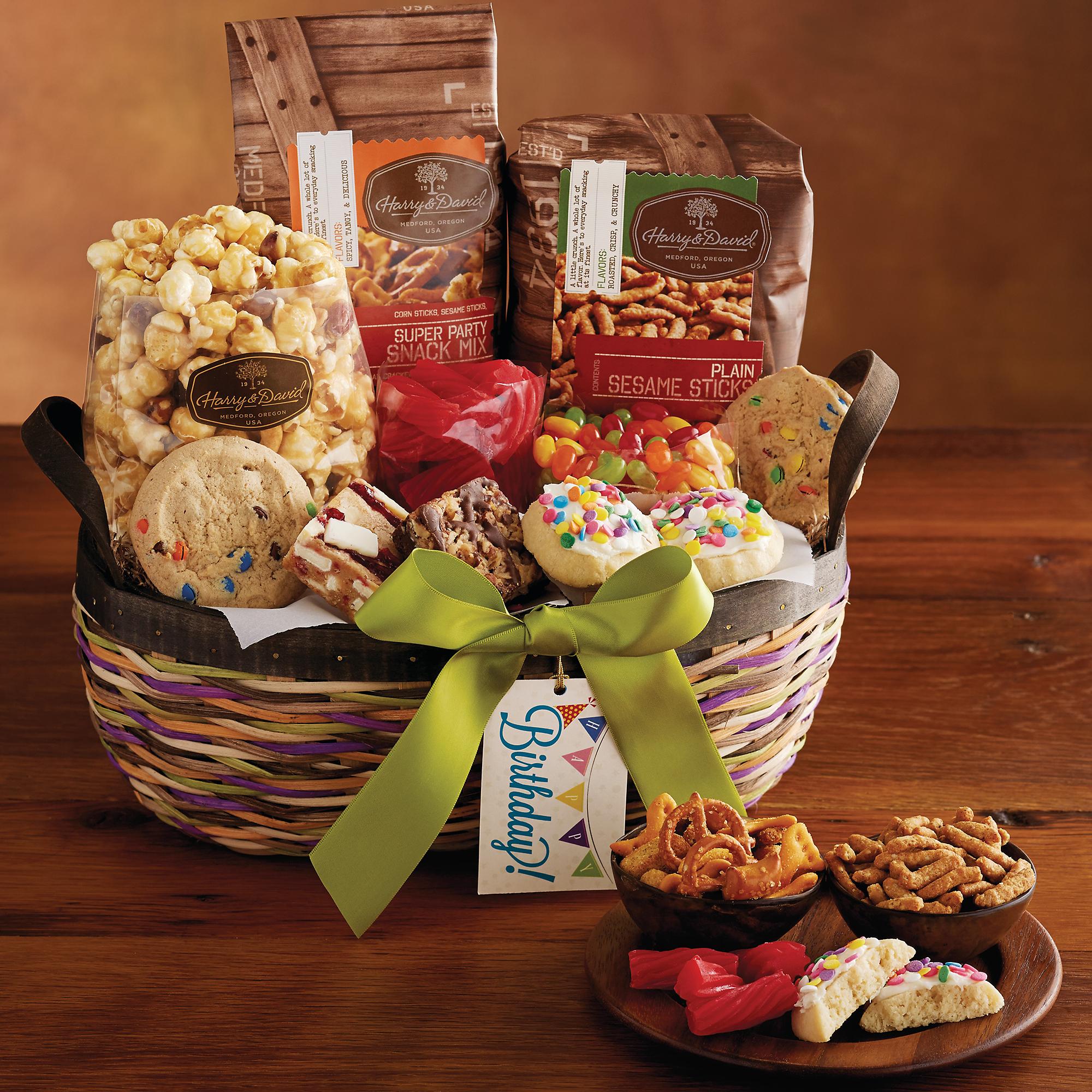 Harry And David Birthday Gift Baskets : Birthday basket business gifts harry david