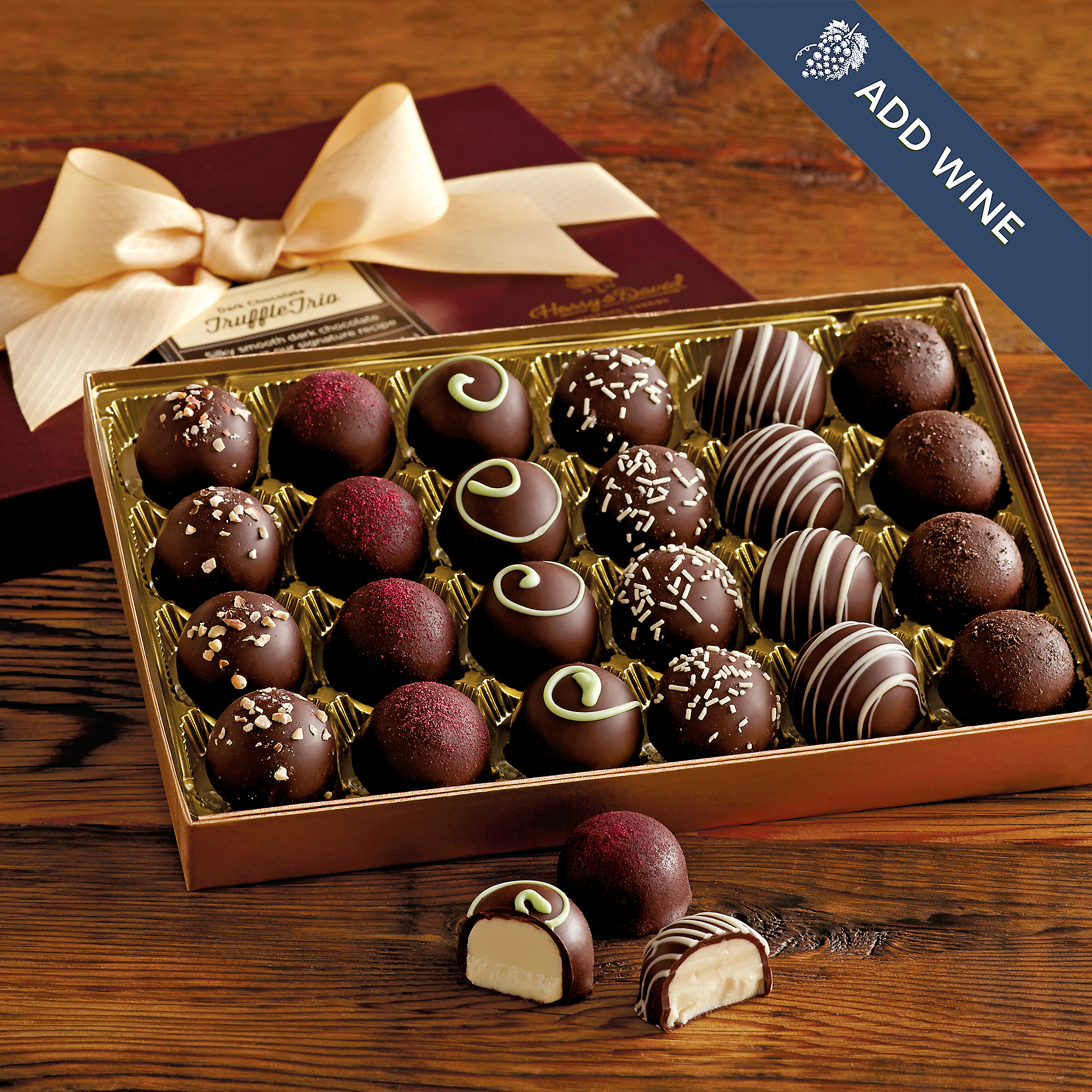 Dark Chocolate Truffles | Chocolate Gifts Delivered | Harry & David