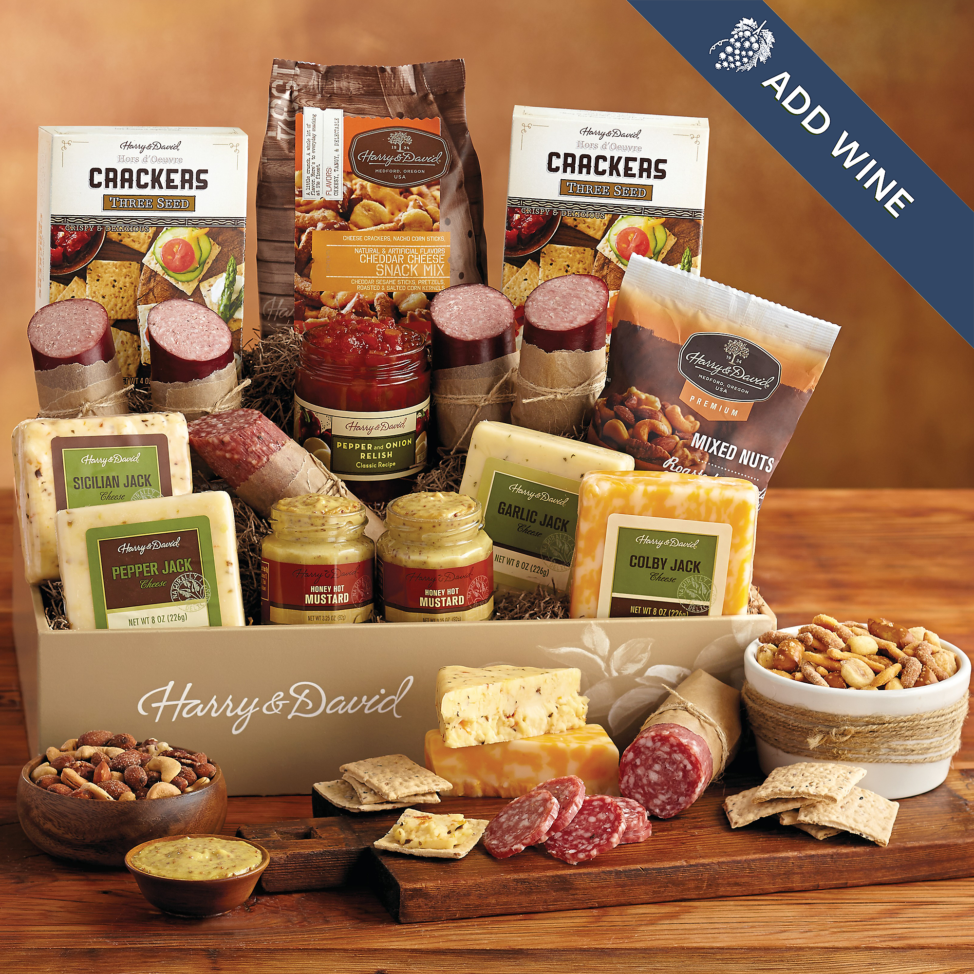 Ultimate Meat and Cheese Gift Box with